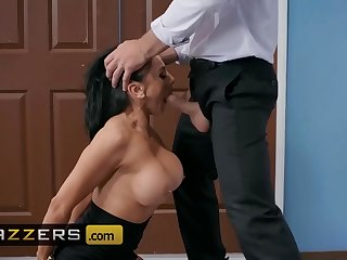 Big Tits at Work - (Audrey Bitoni, Charles Dera) - Emergency Dick Distraction - Brazzers