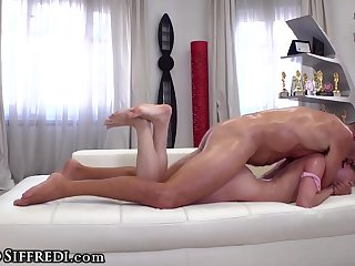 Rocco Siffredi Hot Russian Sub Takes it HARD at Casting