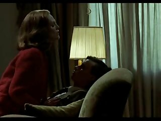 Moms want Sex 3 - Julianne Moore jerks her son and climbs on his lap. Savage Grace (2007)