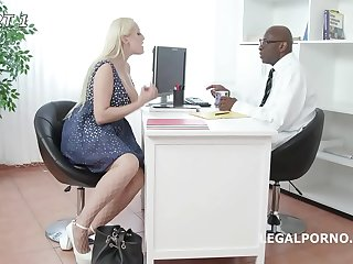 Psycho Doctor #2 Angel Wicky, Intense DAP therapy, Squirt, Gapes, Facial GIO1105