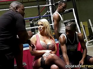 Alura Jenson Wants Gangbang With BBC