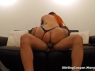 Alexxa Vice Big Booty Anal Cowgirl and Face Fucking Tattoo Slut