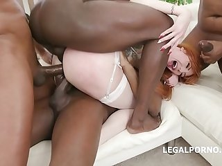 Loan Sharks #3! Lauren Phillips pays her debt, 7on1 BBC Gangbang with Balls Deep Anal, Gapes, DAP, Creampie GIO979