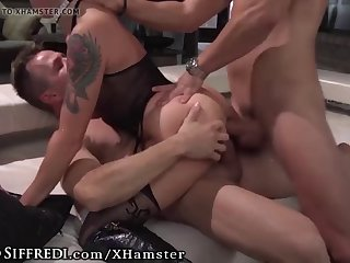 roccosiffredi hot italian's airtight dp gangbang with facial
