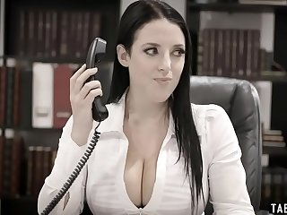 Huge boobs councilwoman exploited by a business man