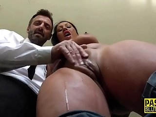 Fetish slut dominated and fingered